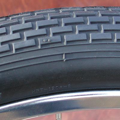 Tires: 2 Vintage Schwinn Brick Pattern Cruiser  Bicycle Tires -A Set