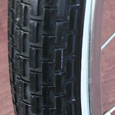 Tires: 2 Vintage Schwinn Brick 26″x 1 3/4″ S-7 Bike Tires (A Set)